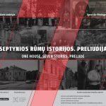 """Muziejų dienai -nauja paroda """"Septynios rūmų istorijos. Preliudija"""" ir orientacinis žaidimas"""
